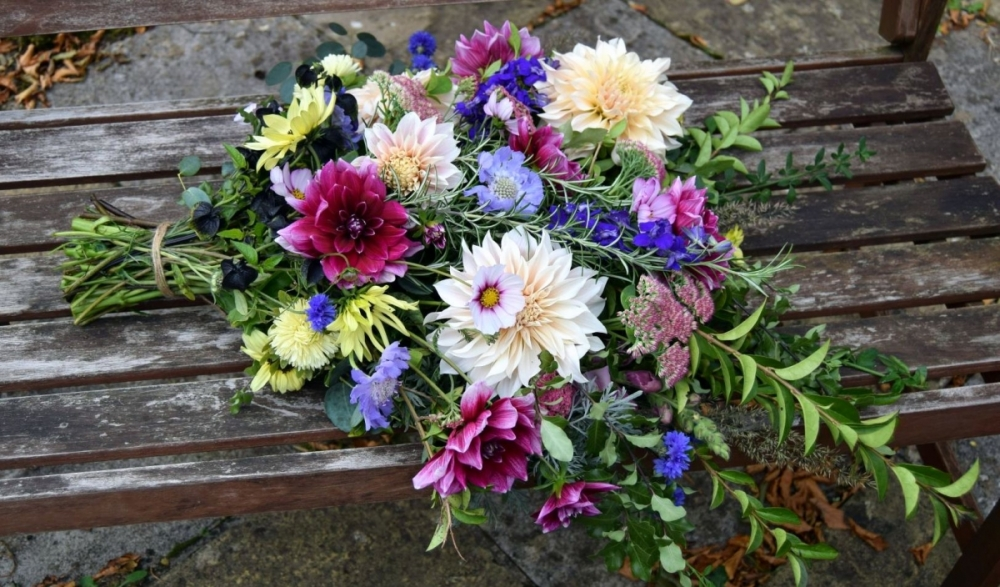Natural Funeral tied sheaf
